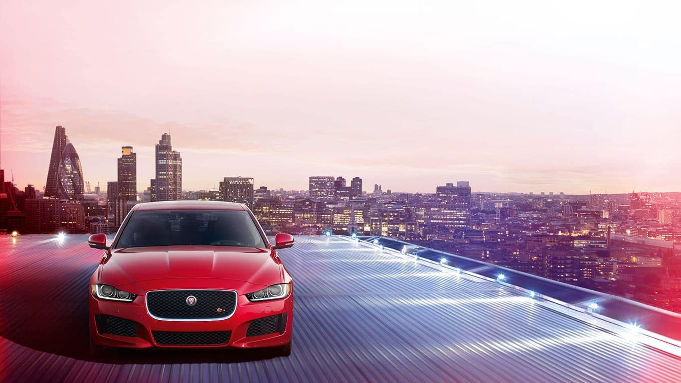 2019 Jaguar XE on roadway