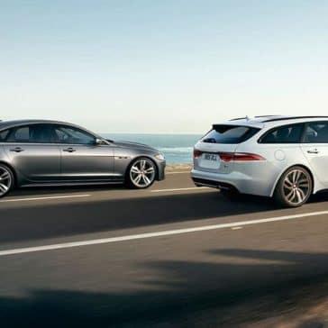 2019 Jaguar XF sportbrake and XF sedan