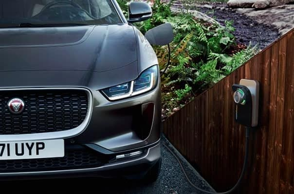 Jaguar I-PACE Getting Charged