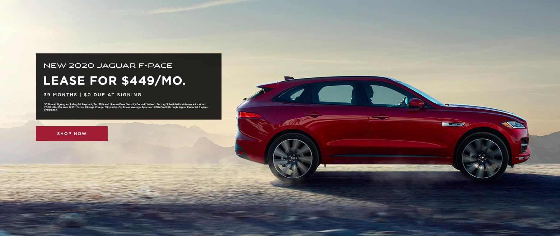 Lease F-Pace