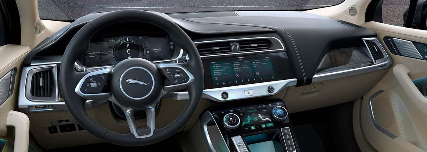 Jaguar I PACE interior