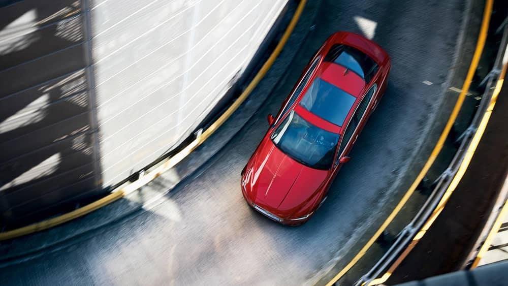 2020 Jaguar XE Top view