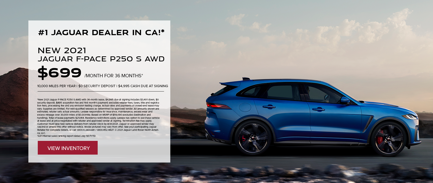 F-PACE August