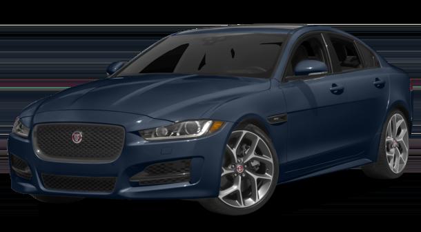 2017 Jaguar XE Blue