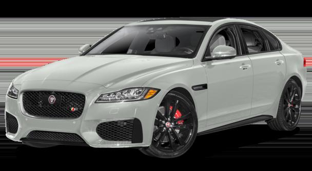 2017 Jaguar XF White