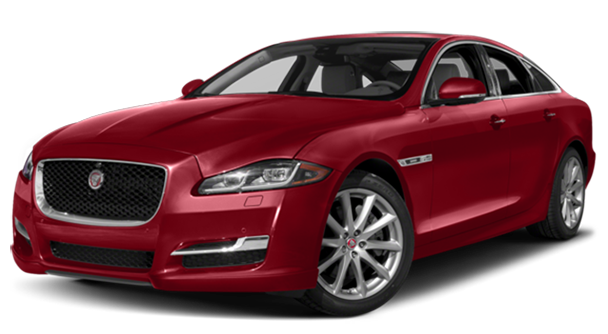 2017 Jaguar XJ Red