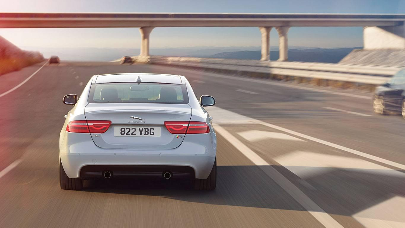 2018 Jaguar XE rear view