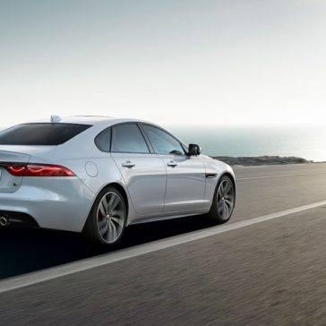2018 Jaguar XF rear view
