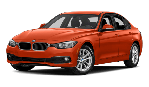 2018 BMW 3 Series white background
