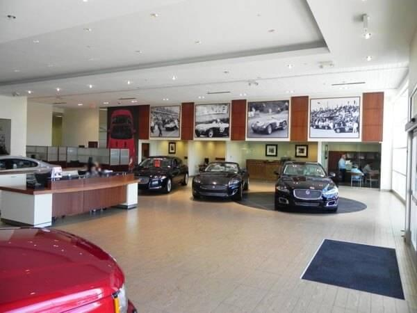 Inside Jaguar North Scottsdale