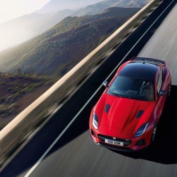 2018 Jaguar F-TYPE red exterior