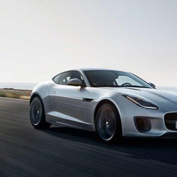 2018 Jaguar F-TYPE white exterior