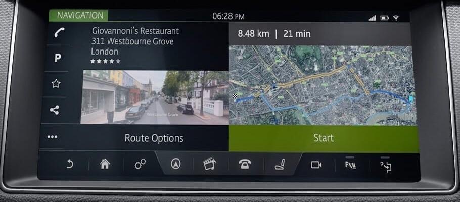 2018 Jaguar F-PACE Technology Features