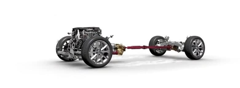 Jaguar All-Wheel Drive System