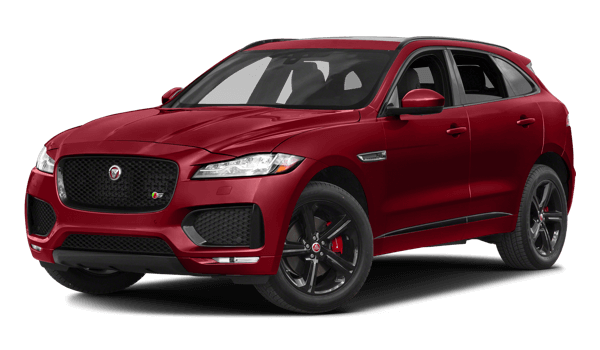 2018 Jaguar F-PACE white background