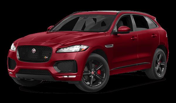 2018 Jaguar F-PACE white background