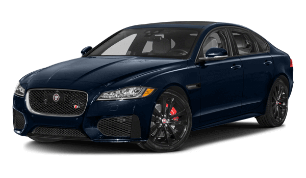 2018 Jaguar XF white background