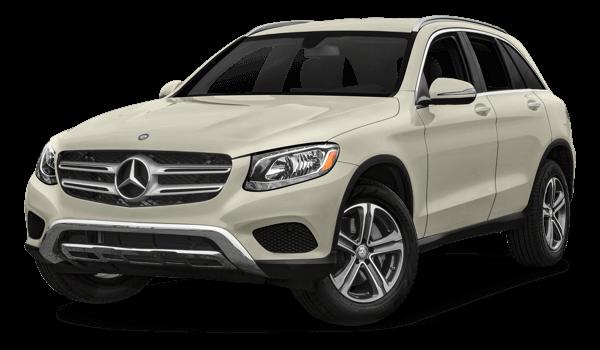 2018 Mercedes-Benz GLC white background