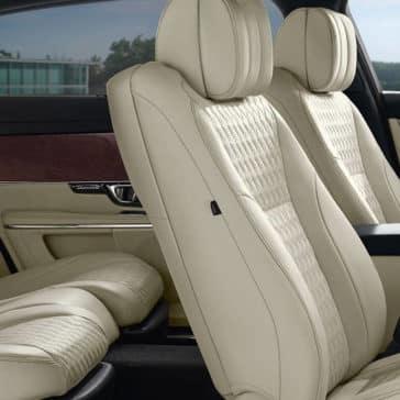 2018 Jaguar XJ seats