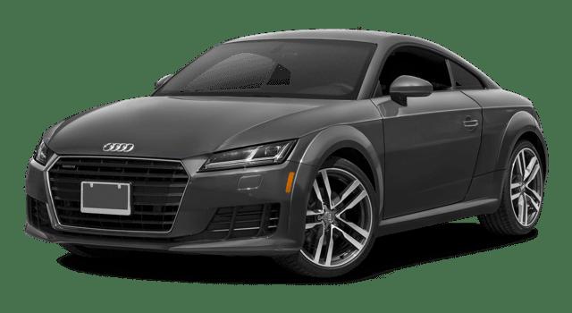 2018 Audi TT white background
