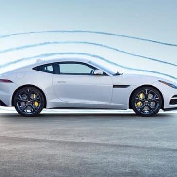 2019 Jaguar F-TYPE Coupe Yulong White Side Profile