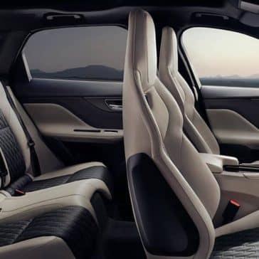 2019 Jaguar F-PACE interior seating