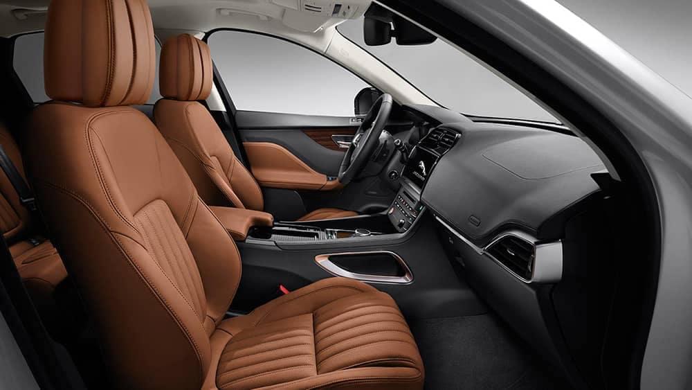 2019 Jaguar F-PACE front interior