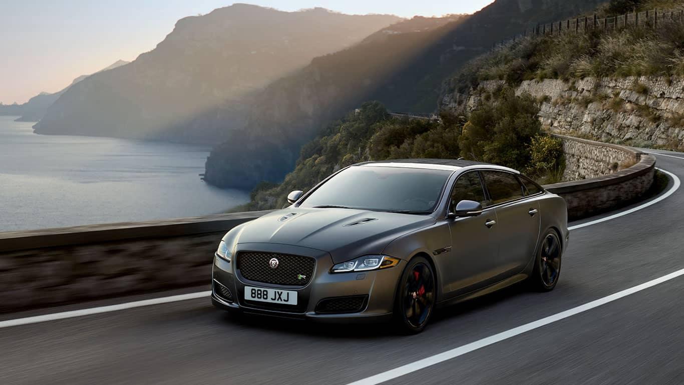 2019 Jaguar XJ on the road