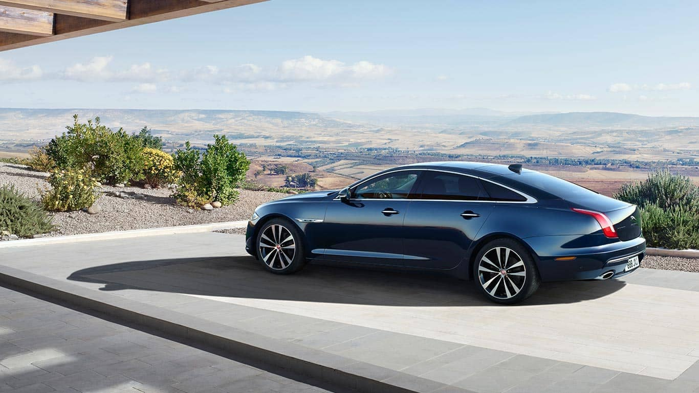 2019 Jaguar XJ parked