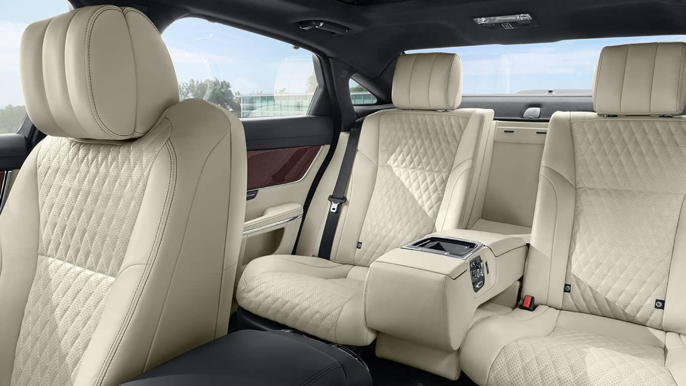 2019 Jaguar XJ rear seating
