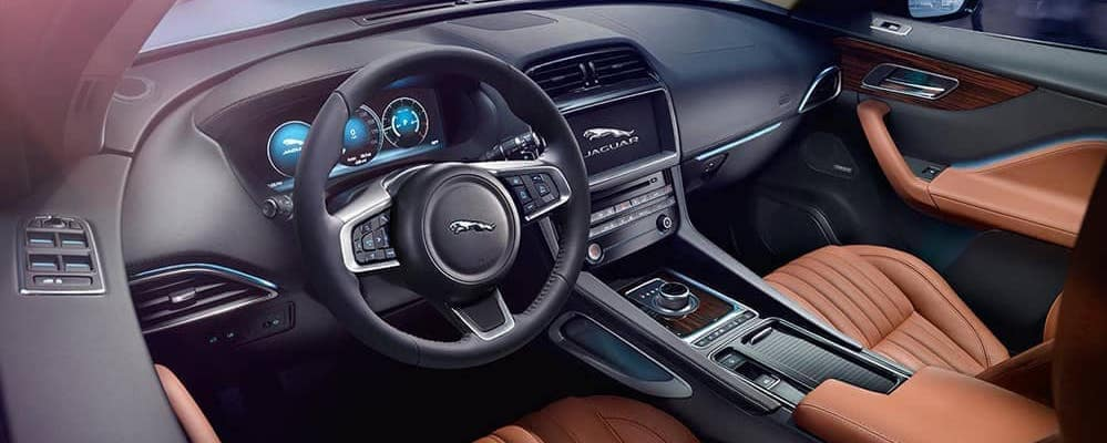2019 jaguar f-pace interior