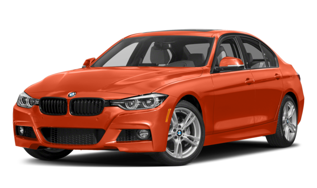2019 bmw 3 series orange
