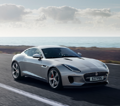 2020 Jaguar F-TYPE Coupe 360Hp