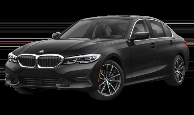 2019 bmw 3 series black exterior
