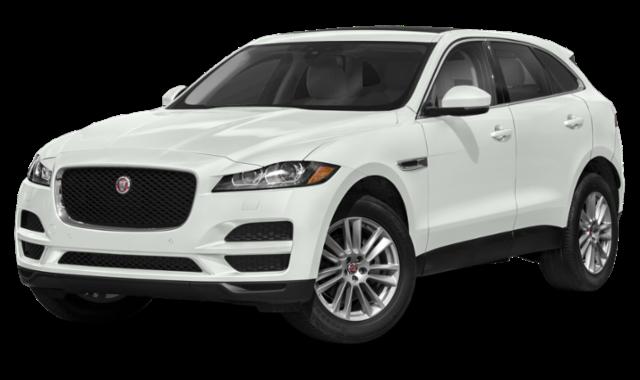 2020 jaguar f-pace white exterior model view