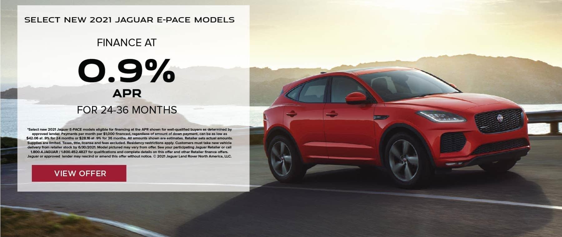 North Scottsdale – Jaguar – Homepage Slides (Offers)_2021 E-PACE – APR