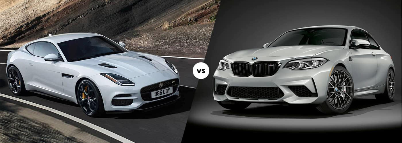 2021 jaguar f-type vs bmw m2