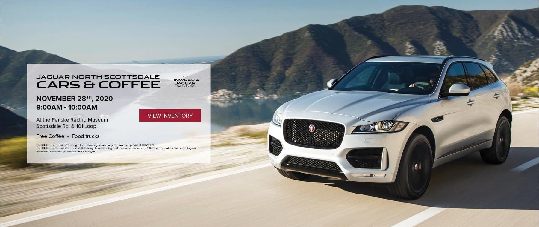 Jaguar North Scottsdale - Cars & Coffee