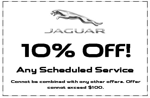 Jaguar Shreveport, 10% Off Maintenance, service specials