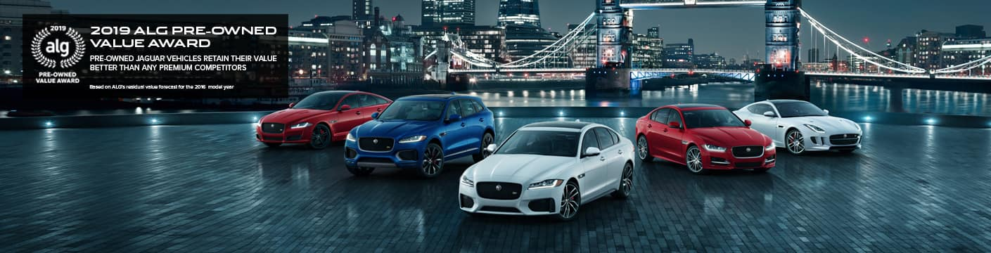 42 Certified Pre-Owned Jaguars - Edmonds | Jaguar Seattle