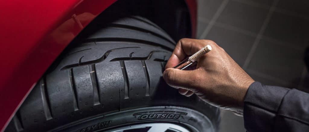Jaguar Tires and Alignment at Baker Motor Company of Charleston