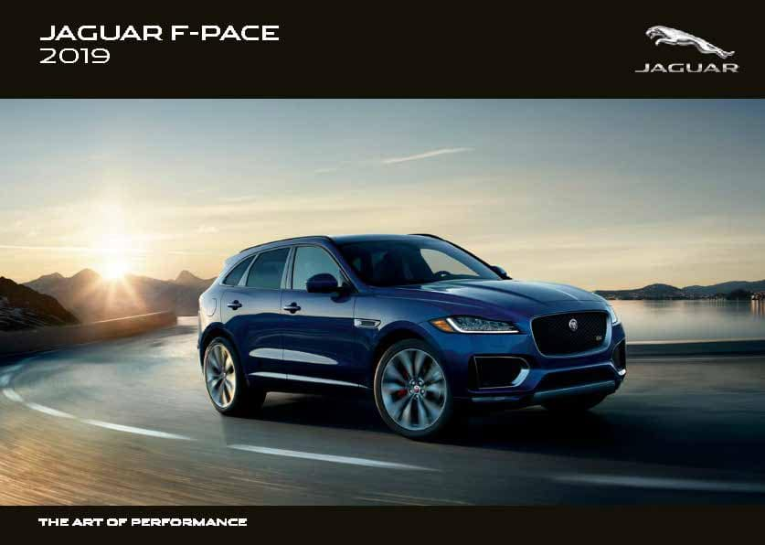 2019 F-PACE Brochure