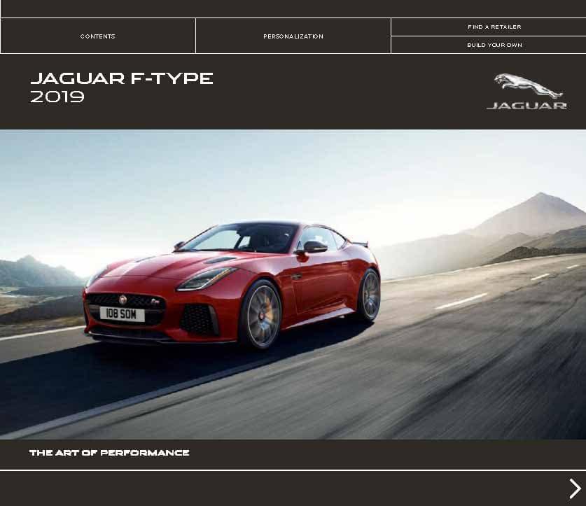 2019 F-TYPE Brochure