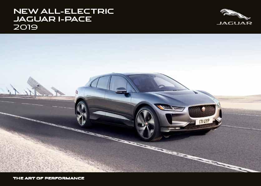 2019 I-PACE Brochure