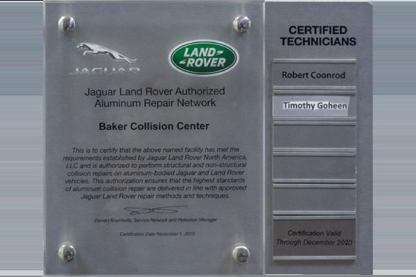 Land Rover Collision-Repair
