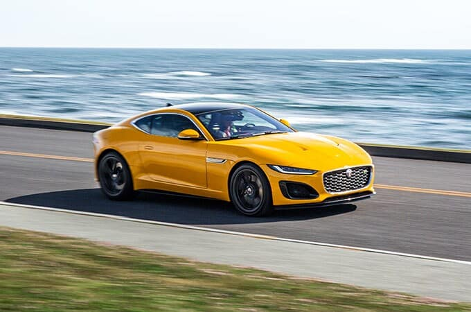 Jaguar F-TYPE   Available from Jaguar West Ashley   in Charleston SC
