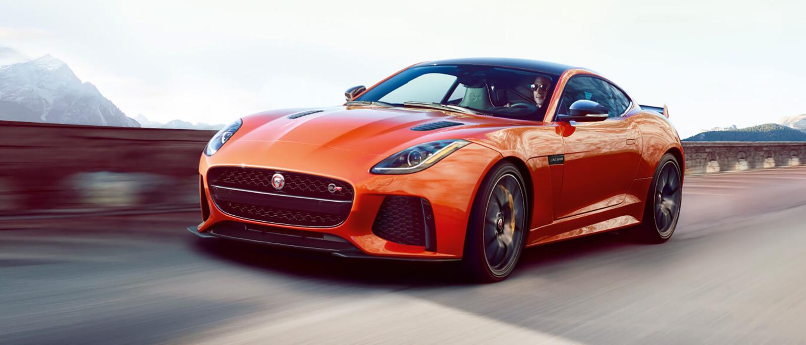 2017 Jaguar F-Type orange