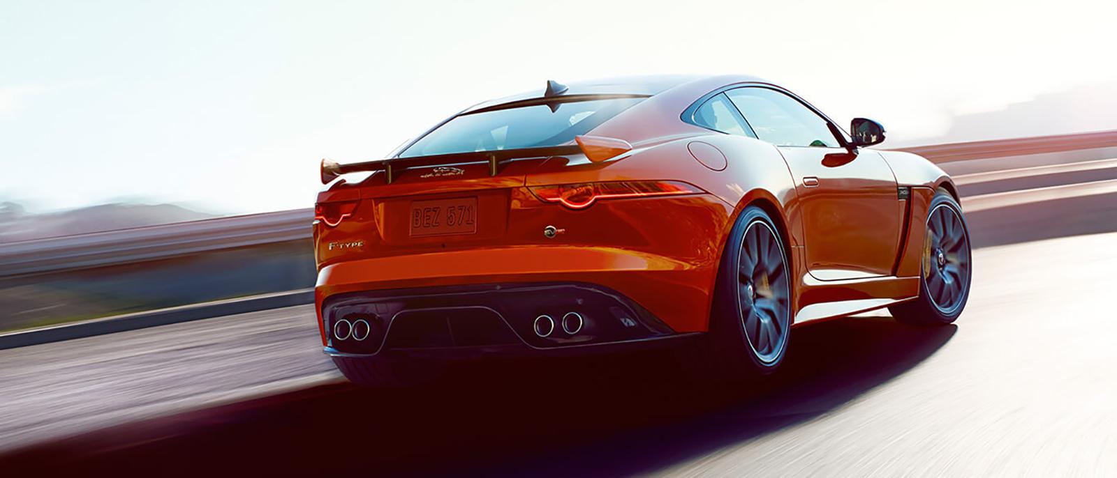 2017 Jaguar F-Type rear
