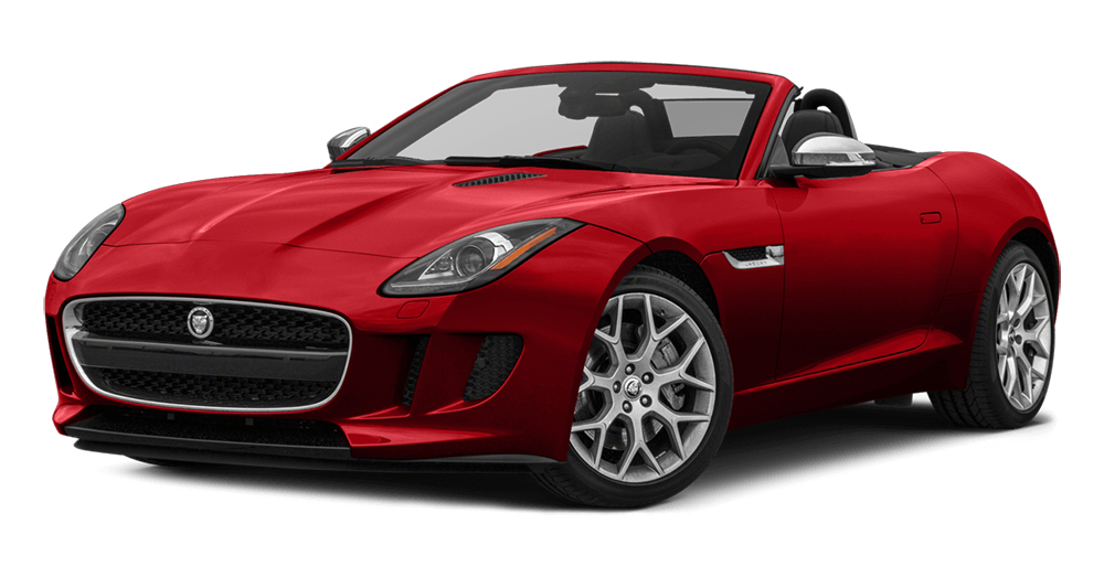 2017 Jaguar Convertible F-Type red