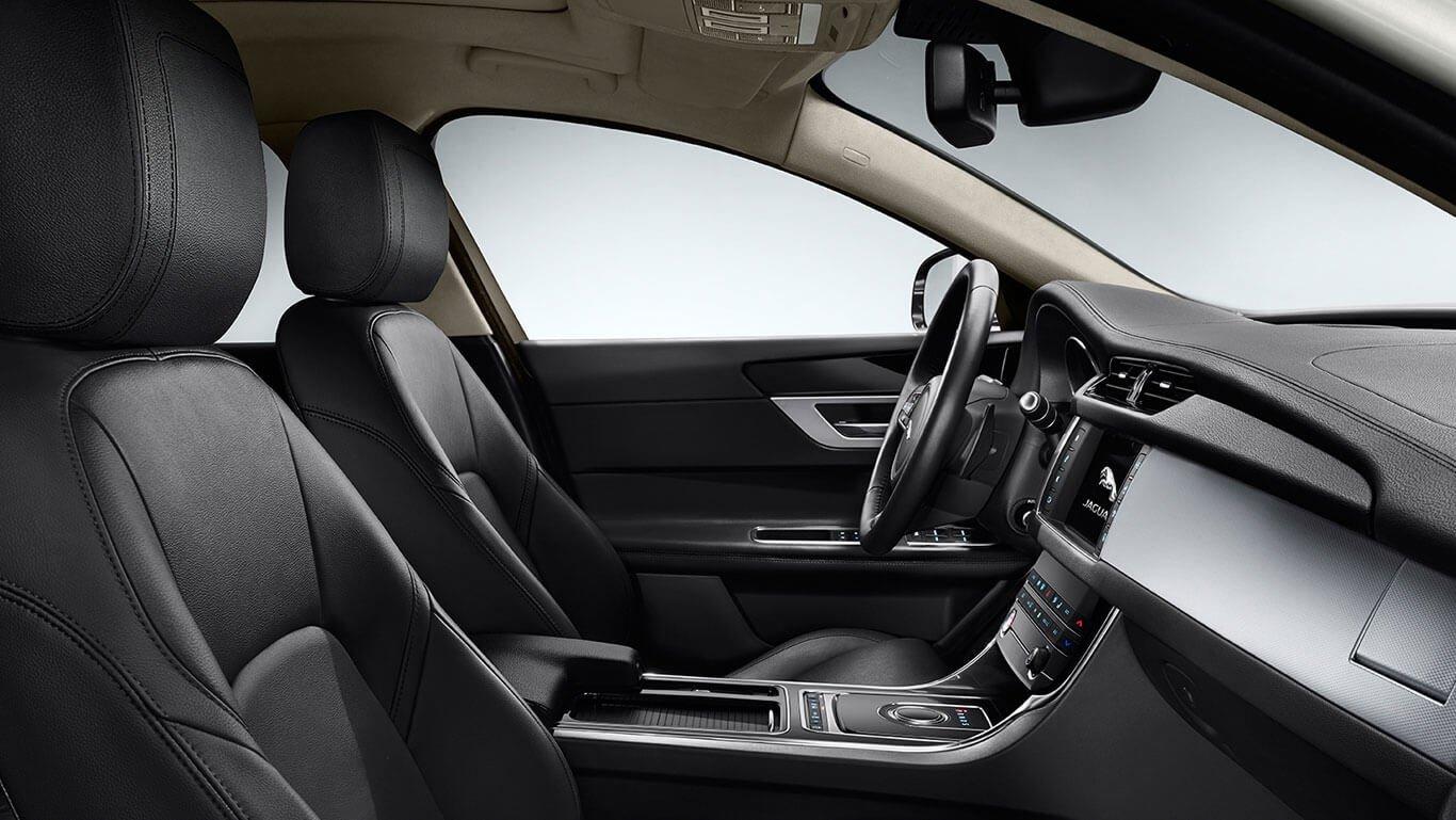 XF Premium interior with Jet trim